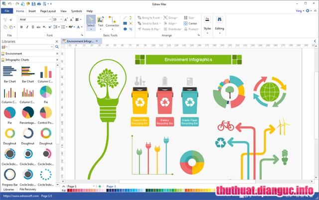 Download Edraw Max 9.3.0.712 Full Cr@ck – Phần mềm đồ họa 2D