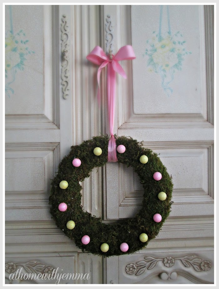 A Week Of Spring Wreaths-DIY