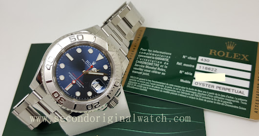 FOR SALE : ROLEX YACHTMASTER 1 BLUE DIAL