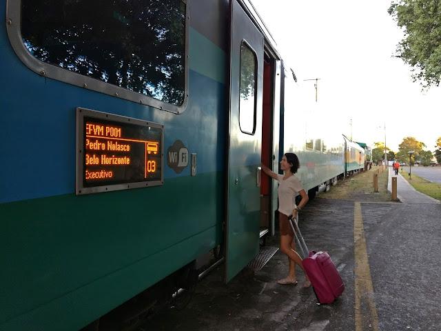 Saiba como é a viagem de Trem de Vitória a Belo Horizonte - Minas