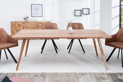 jedálenské stoly Reaction, masívne stoly, stoly z masívu