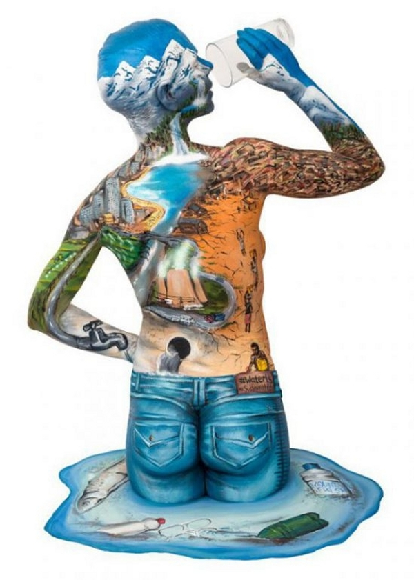 18-World-Water-Day-Emma-Fay-Body-Painting-with-Human-Canvasses-www-designstack-co