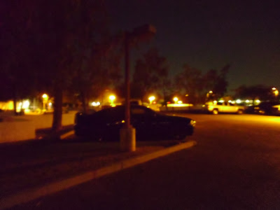 Streetlight Out at City Parking Lot at 3600 N Marshall Way