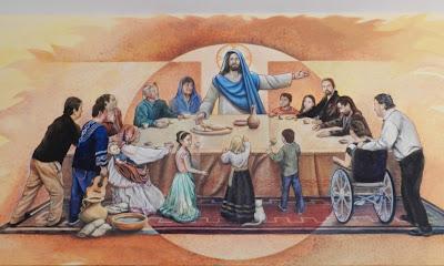 Resultado de imagem para quando deres uma festa, convida os pobres, os aleijados, os coxos, os cegos