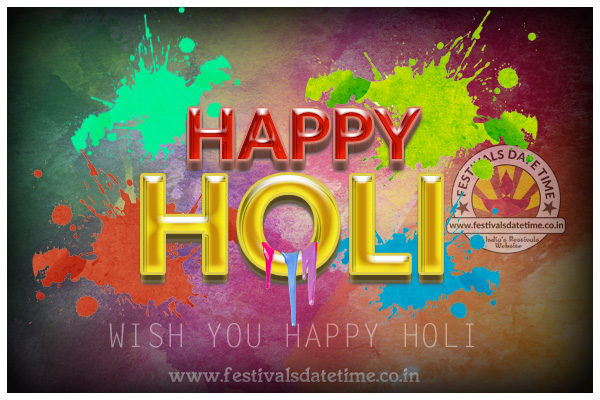 Happy Holi Wallpaper Free Download, Holi Wallpaper
