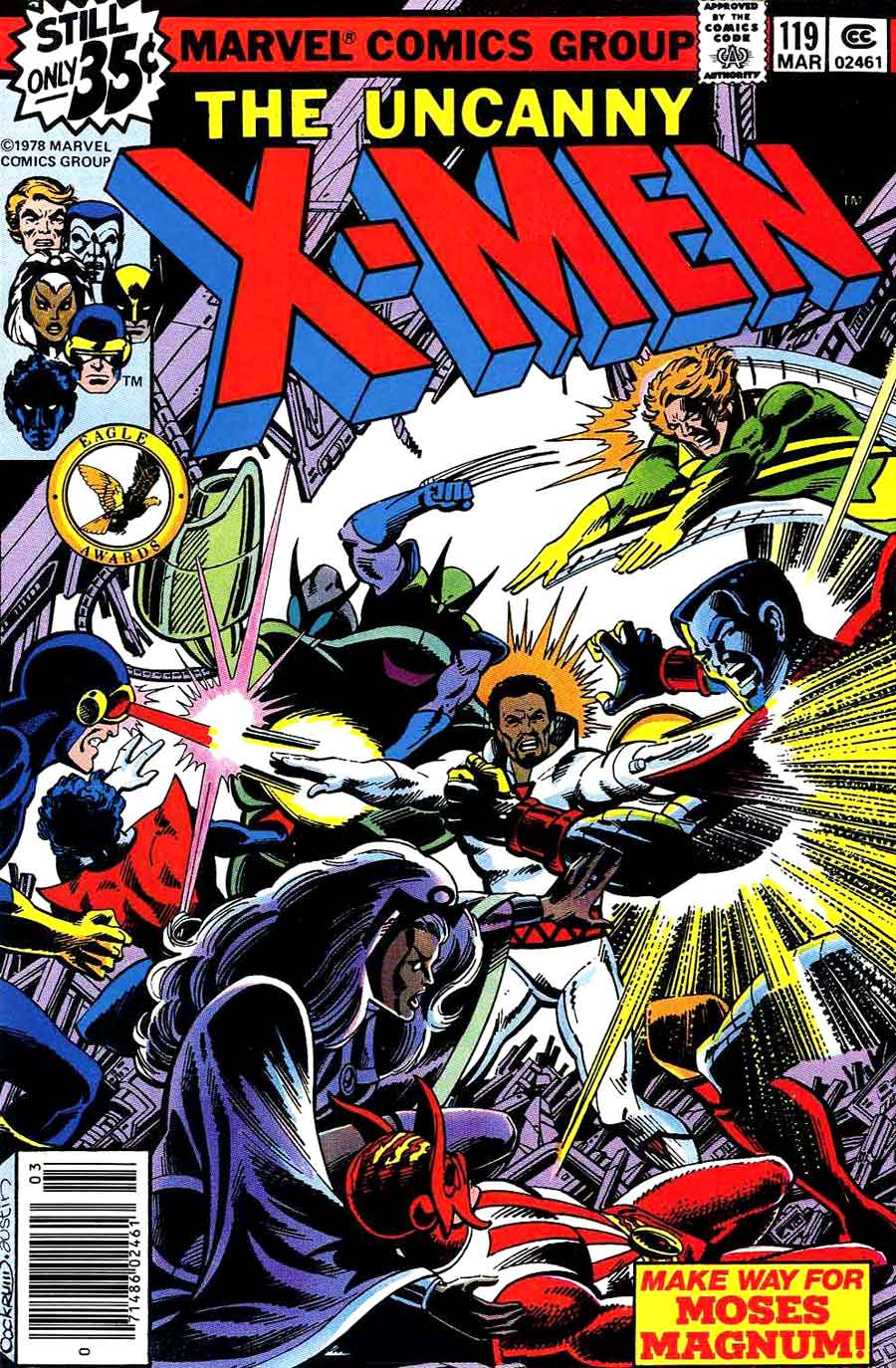 X-men v1 #119 marvel comic book cover art by John Byrne