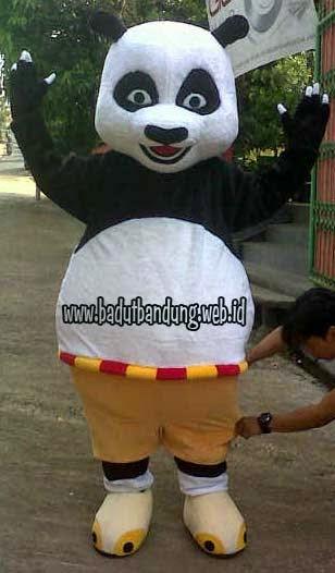 badut ahli kungfu kostum panda bandung