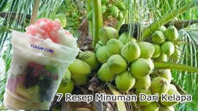 7 Resep Minuman Dari Kelapa Cocok Untuk Buka Puasa