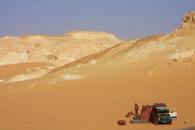 Explorar o DESERTO BRANCO e Deserto Negro - Os desertos ocidentais do Egipto | Egipto