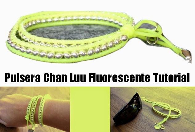 Como hacer una Pulsera Fluorescente Chan Luu para Discotecas
