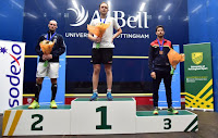 SQUASH - James Willstrop sucede a Borja Golán (bronce) en el trono de Europa. Camille Serme campeona por 7ª vez seguida