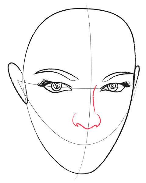 Pencil sketches and drawings: How to Draw a Human Head