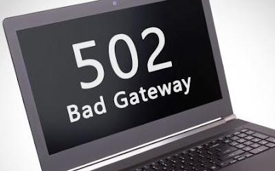 Langkah Cara Mengatasi 502 Bad Gateway