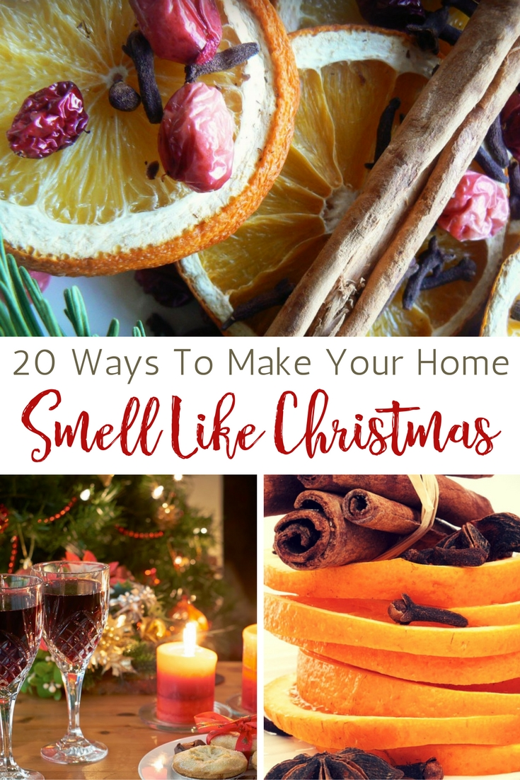 If you feel the same way as I do. You may be able to make your house smell like Christmas. In order to make Christmas potpourri, you need ingredients like cinnamon, citrus, ginger and vanilla, and then simmer them over stove. You can make your house feel warm, cozy and welcomed for you next party. Click below link for more detail.