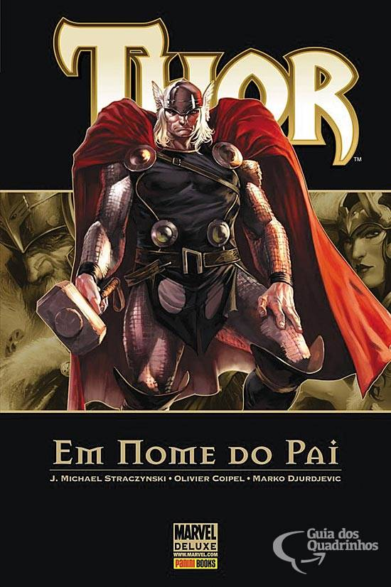Review: Marvel DeLuxe Thor Vol. 2 - Em Nome do Pai (Editora Panini)