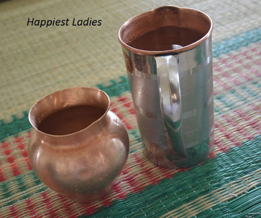 Benefits of Storing Water in Copper Vessel