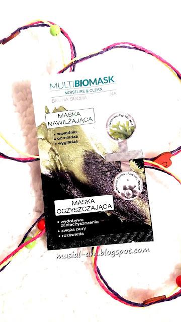 Multi BioMask Moisture & Clean oczyszczenie i nawilżenie - czy się sprawdziła?
