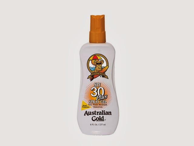 Australian Gold SPF 30 Plus Spray Gel. Foto: Reprodução