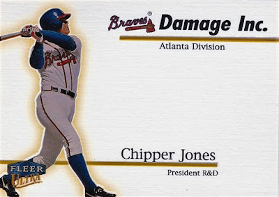 1999 Ultra Damage Inc. #4 Chipper Jones