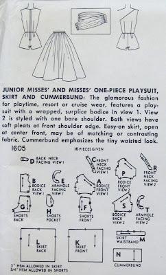 Pintucks: 1950's Summer Pool and Play Set