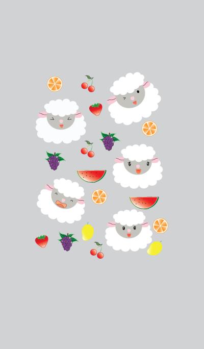 Cute sheep theme vr.3
