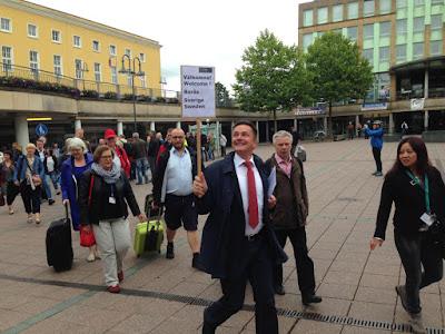 Ni måste kämpa för en central station i Borås