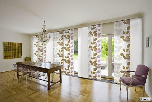 Japanese bedroom curtains designs, Japanese blinds