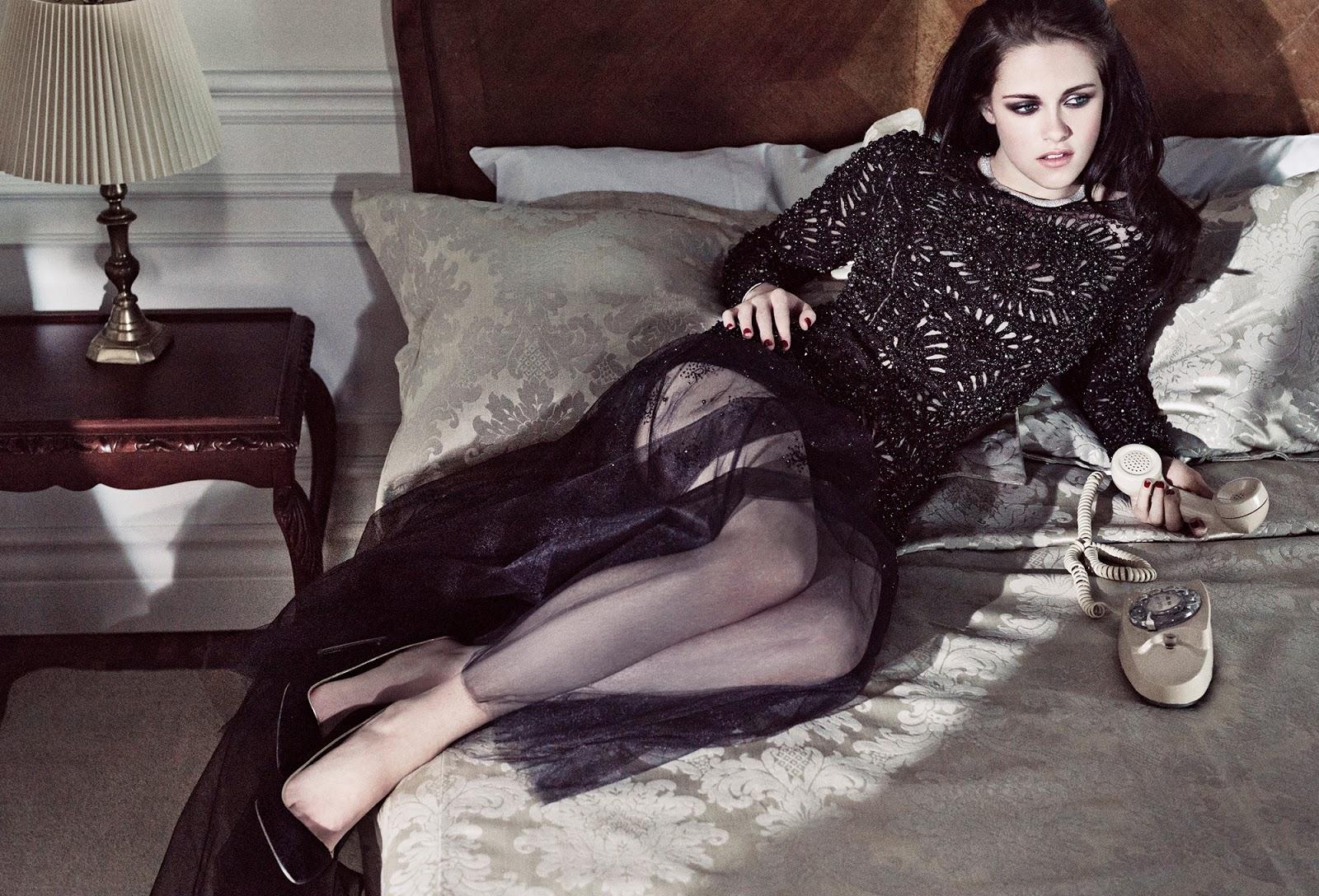 Kristen Stewart manis cantik dan murahan jadi lesbi