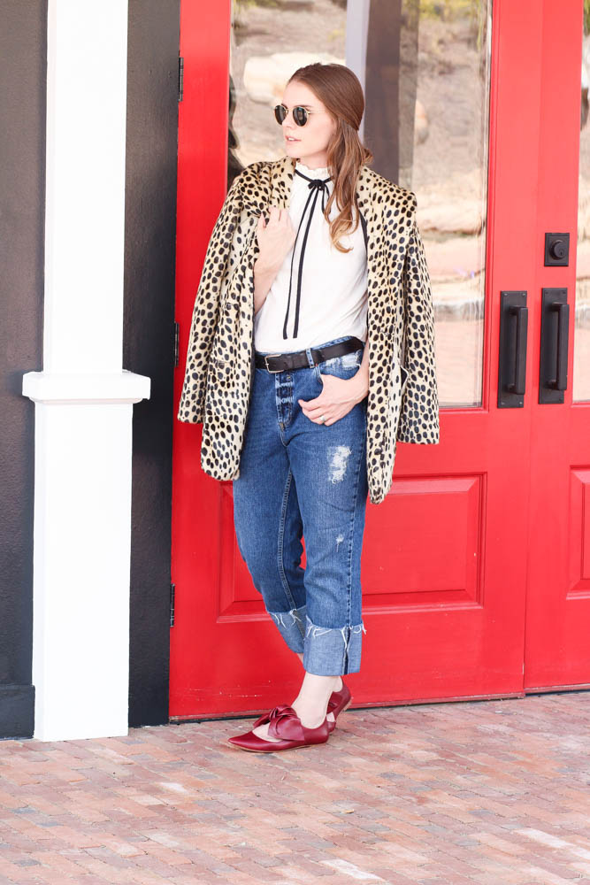 Leopard coats for fall