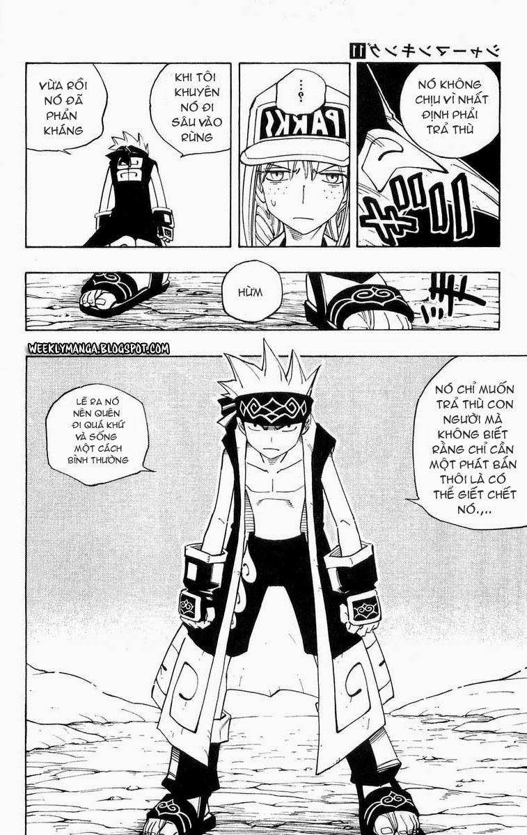 Shaman King [Vua pháp thuật] chap 93 trang 8