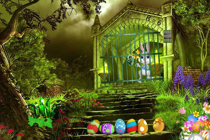 Magic Easter Garden Escape