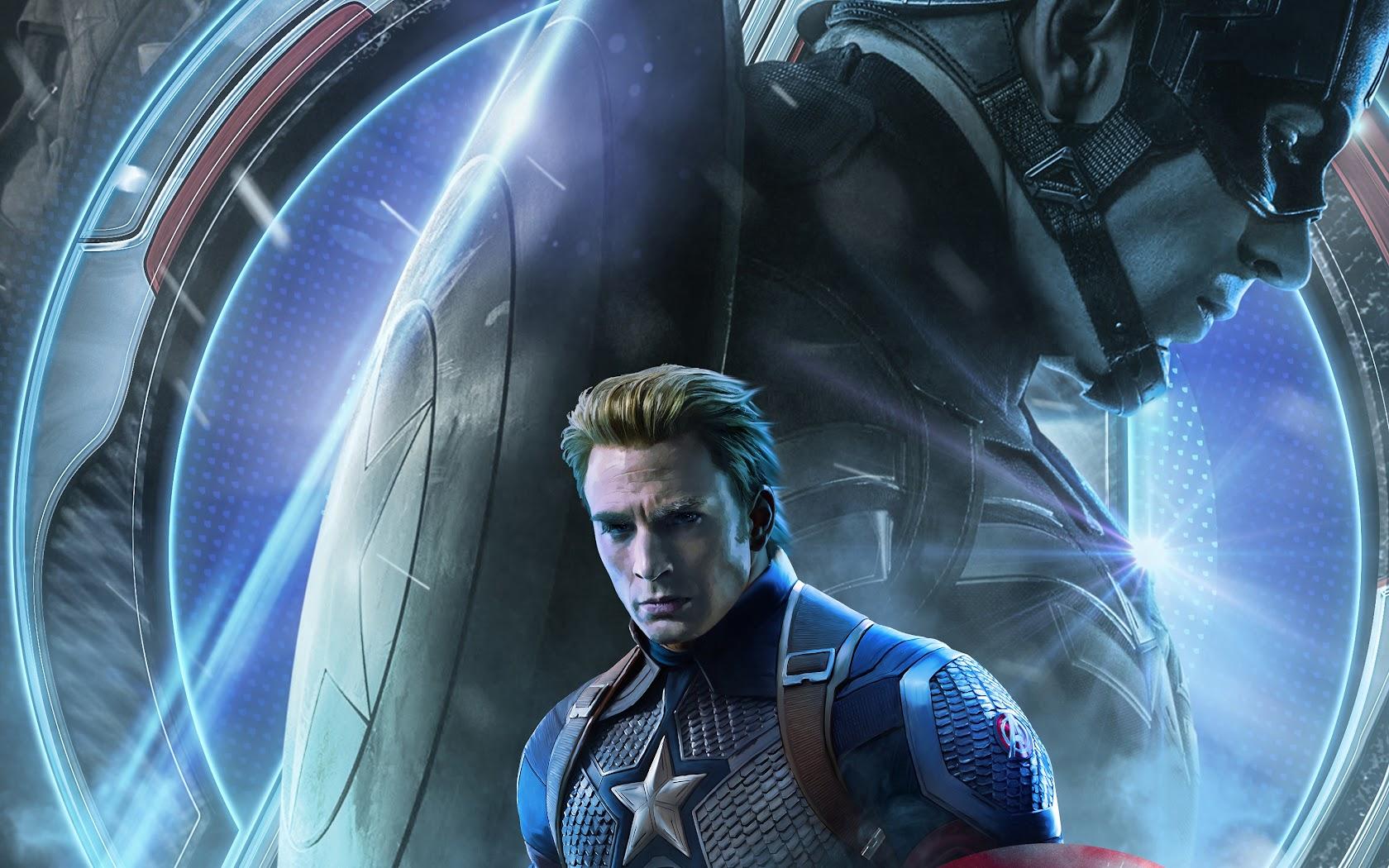 Avengers: Endgame, Captain America, 4K, #97 Wallpaper