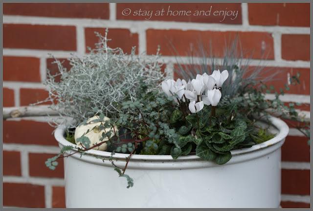 Kürbis-Deko - stay at home and enjoy