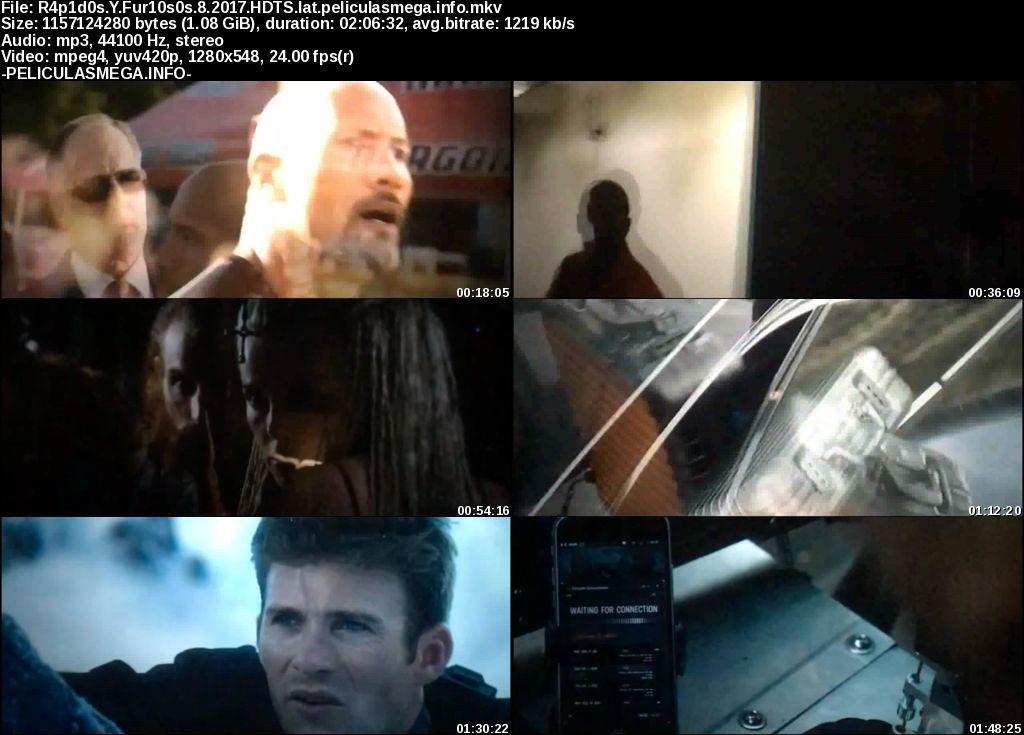 Descargar Fast & Furious 8 Latino por MEGA.