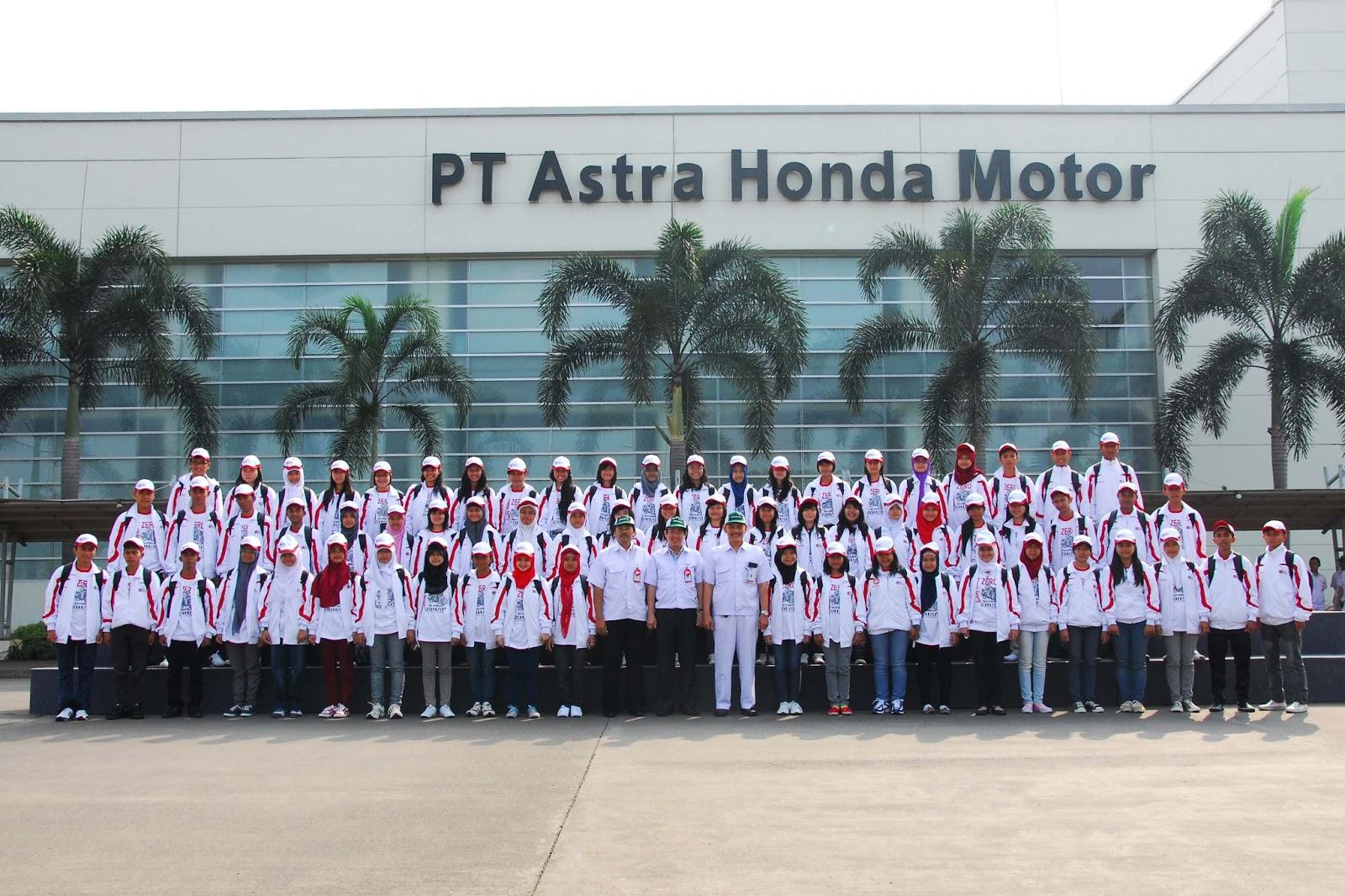 Lowongan Kerja PT. ASTRA HONDA MOTOR Terbaru 2018