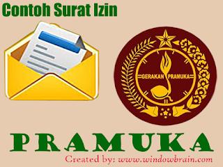 Kumpulan Contoh Surat Izin Pramuka - Download file