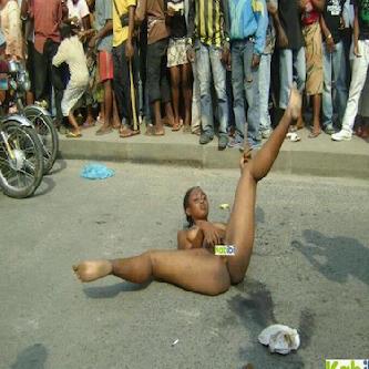 nigerian girls walking naked
