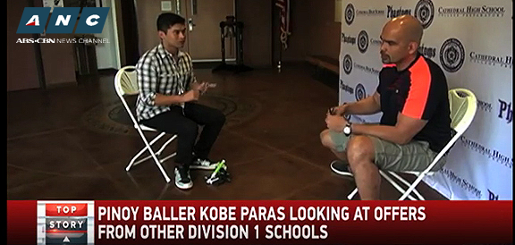 Kobe Paras looking at offers from other Division 1 schools (VIDEO)