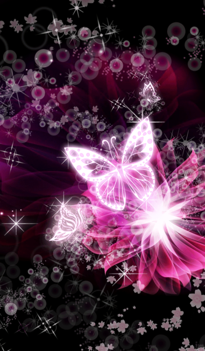 cherry blossom butterfly
