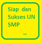Update :Soal-soal Siap USBN dan UNBK-UNKP SMP 2018 4 Mapel Komplit Kunci Jawab