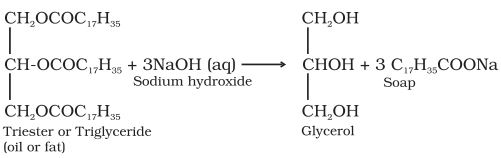 To study saponification reaction for preparation of soap