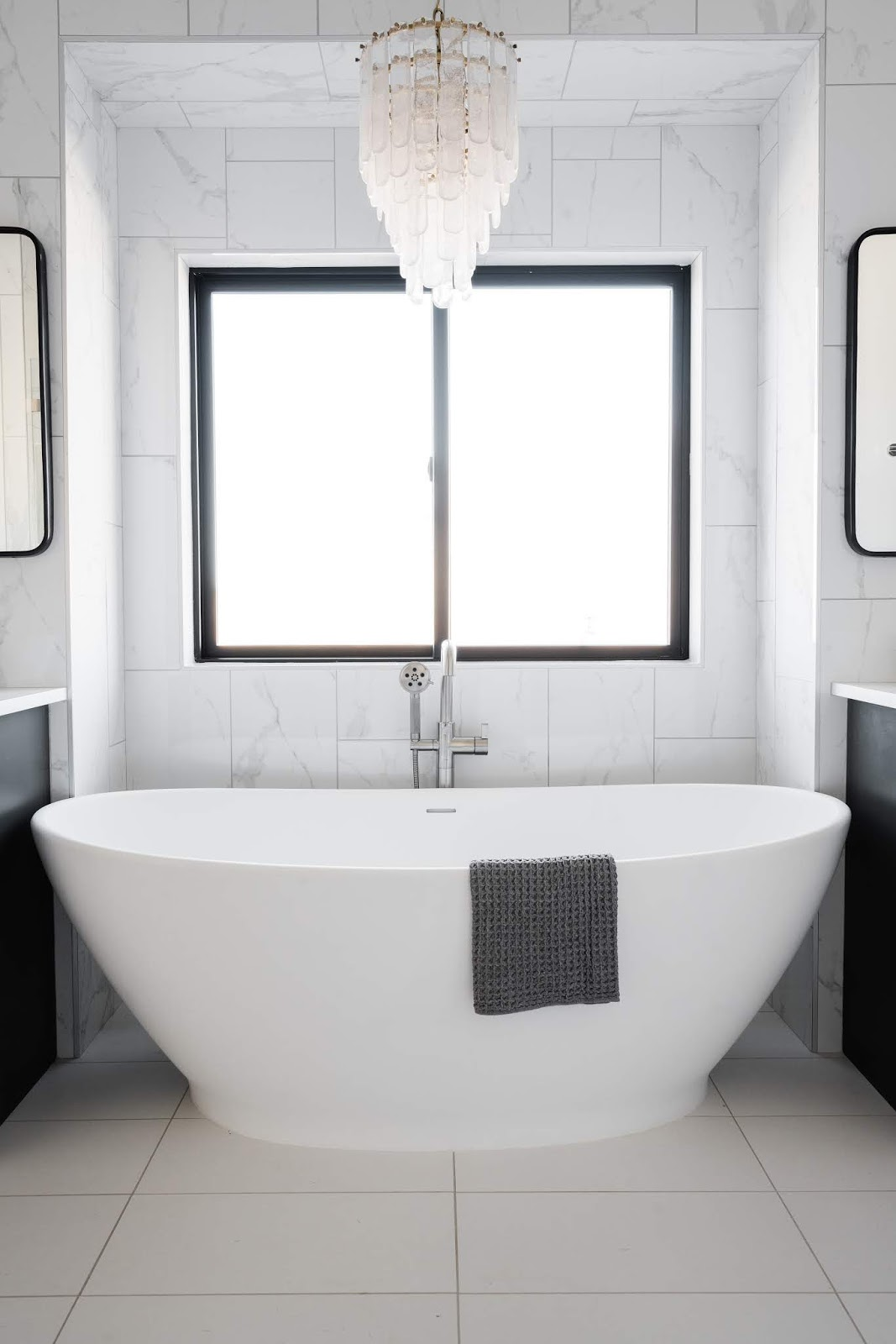 Master Bathroom Bathtub, Modern Bathtub