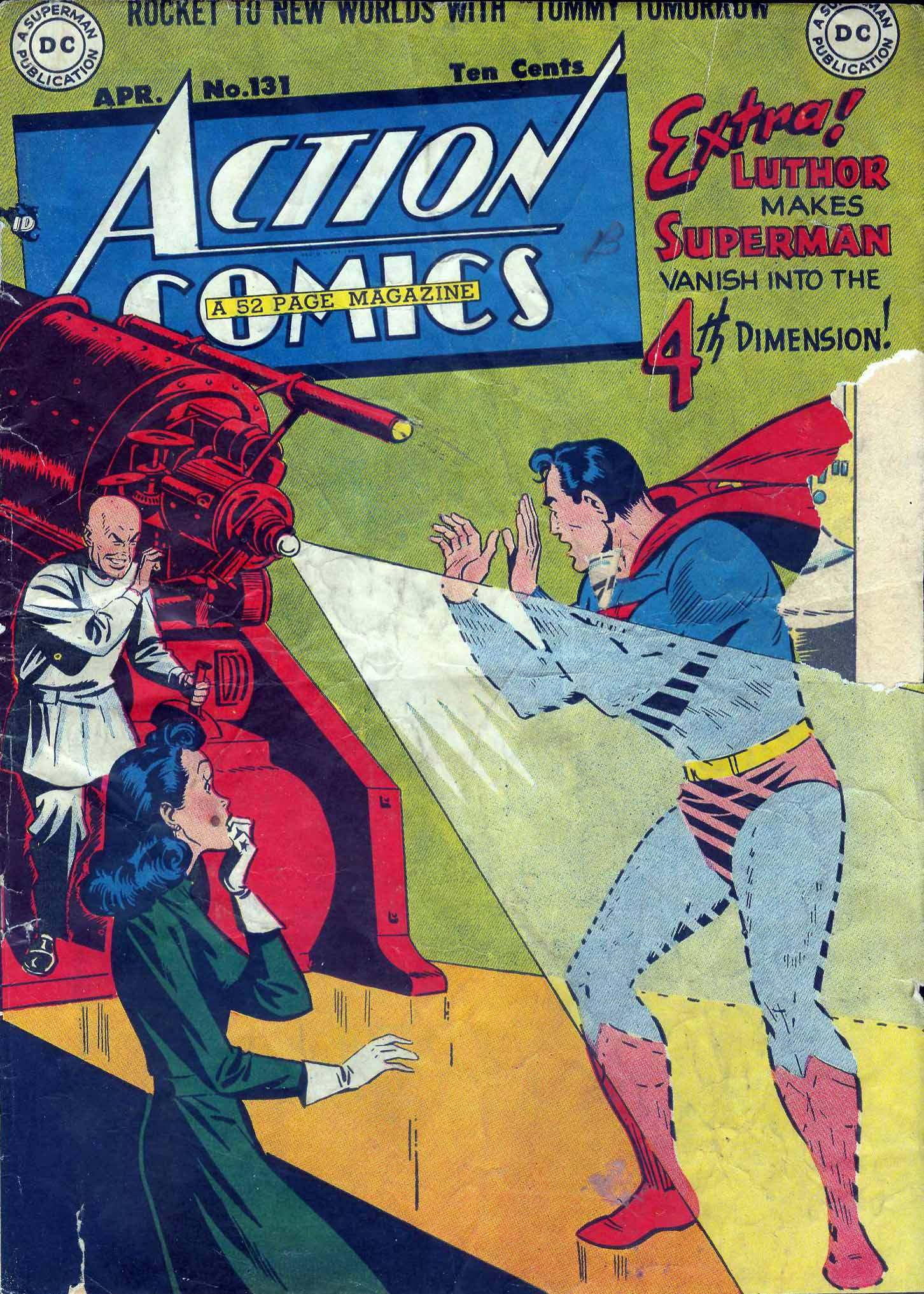 Read online Action Comics (1938) comic -  Issue #131 - 1