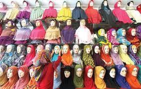 Toko Jilbab di Pontianak
