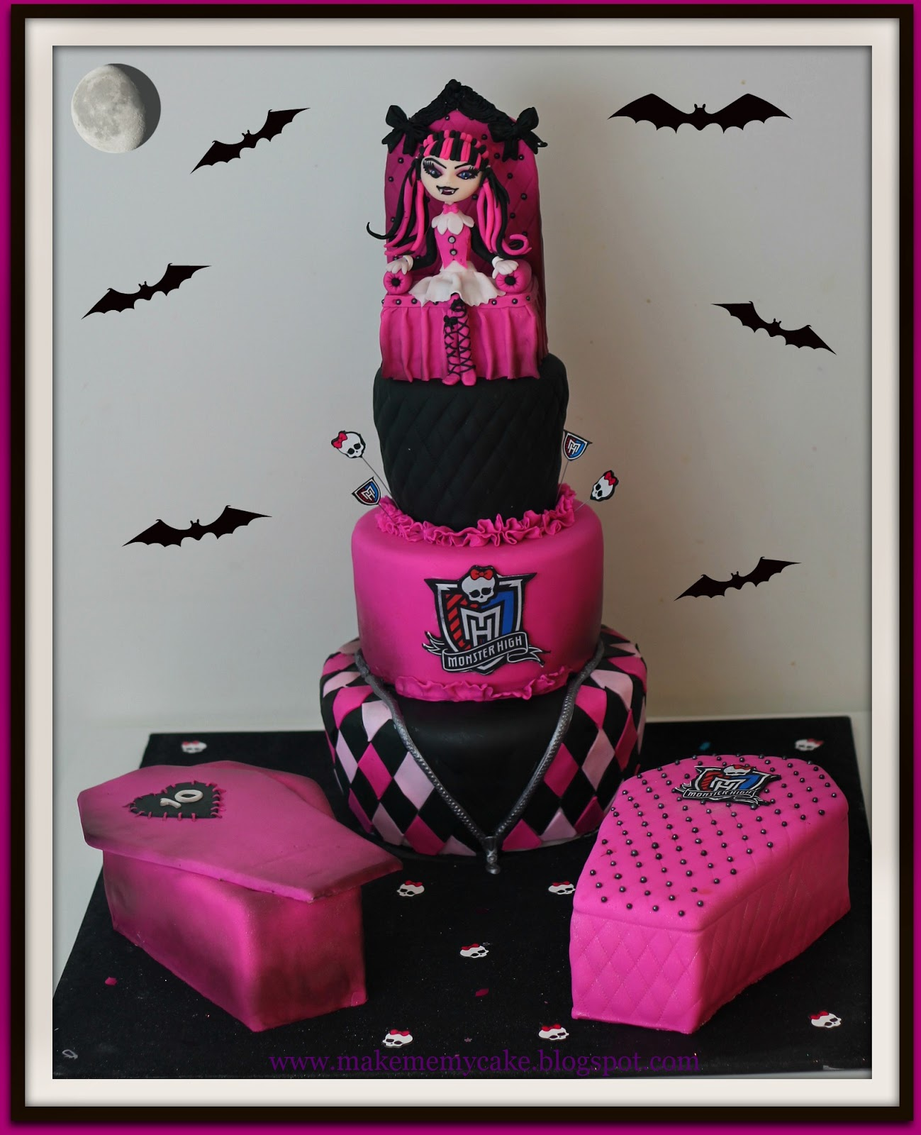 Make Me My Cake How To Make A Monster High In Sugar