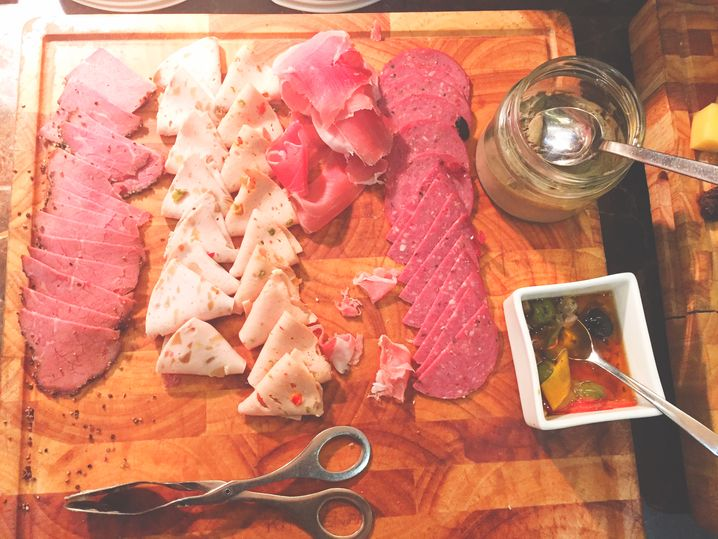 Cold cuts at F All-Day Dining in F1 Hotel
