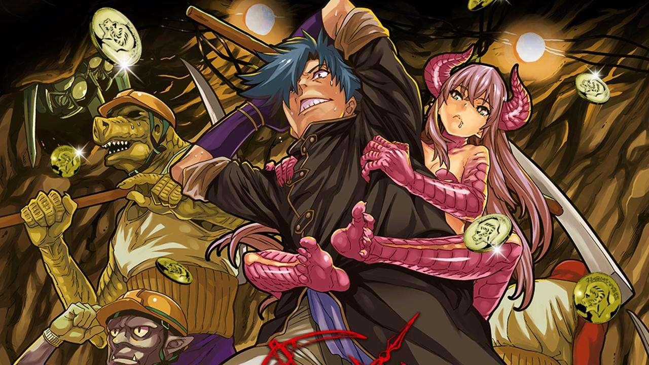 Bohaterowie anime Meikyuu Black Company