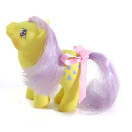 My Little Pony Baby Lemondrop Germany  German Play and Care Sets G1 Pony