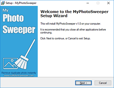 install myphotosweeper