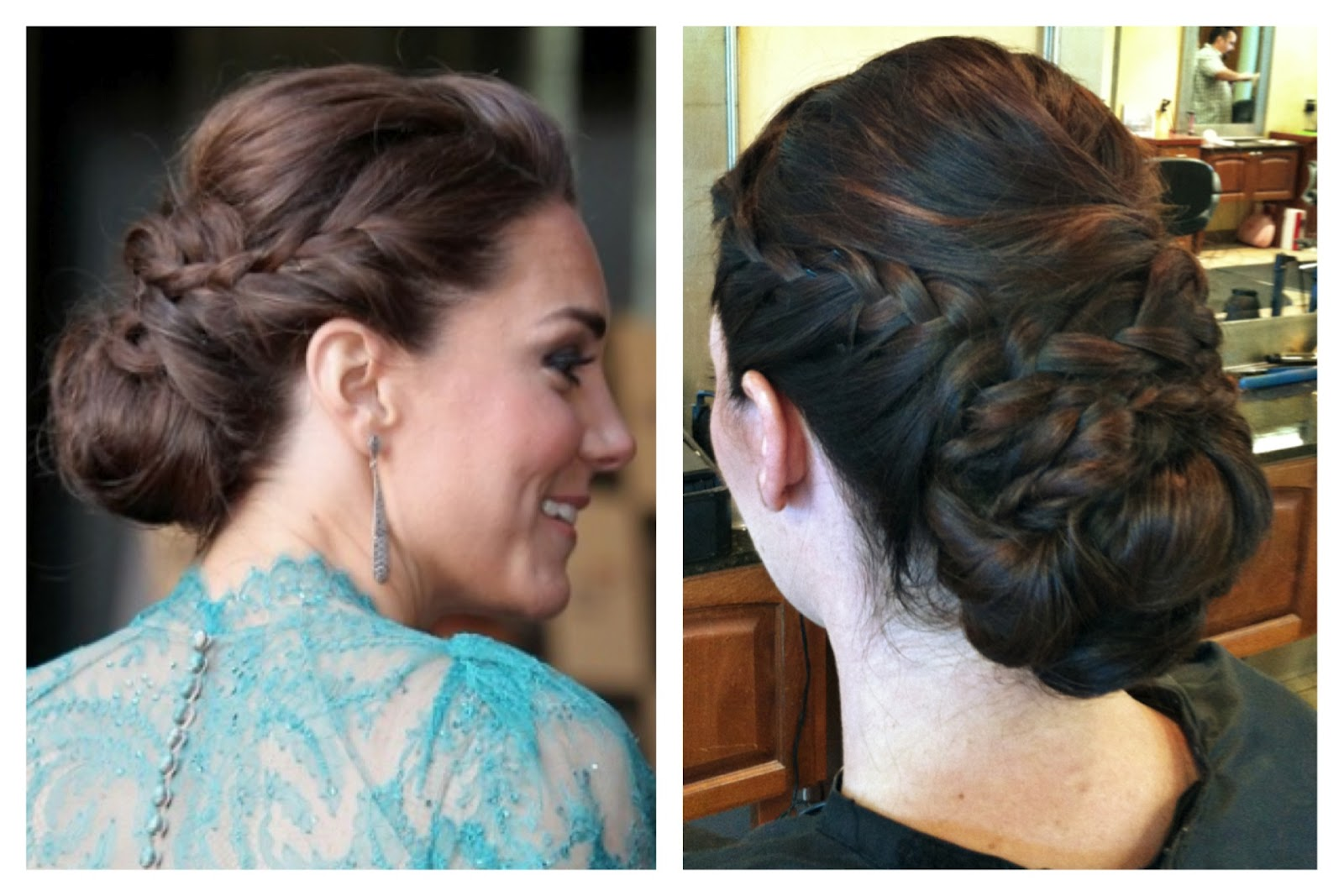 Terrific Hair And Make Up By Steph How To Kate Middleton Updo Short Hairstyles For Black Women Fulllsitofus